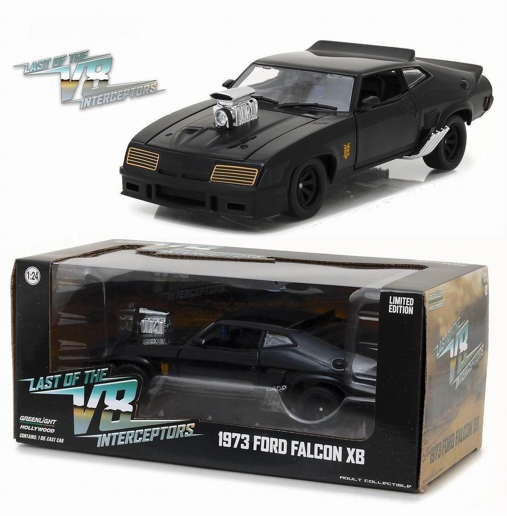 Voiture miniature métal Mad Max Ford XB Coupé V8 Interceptor 1/24