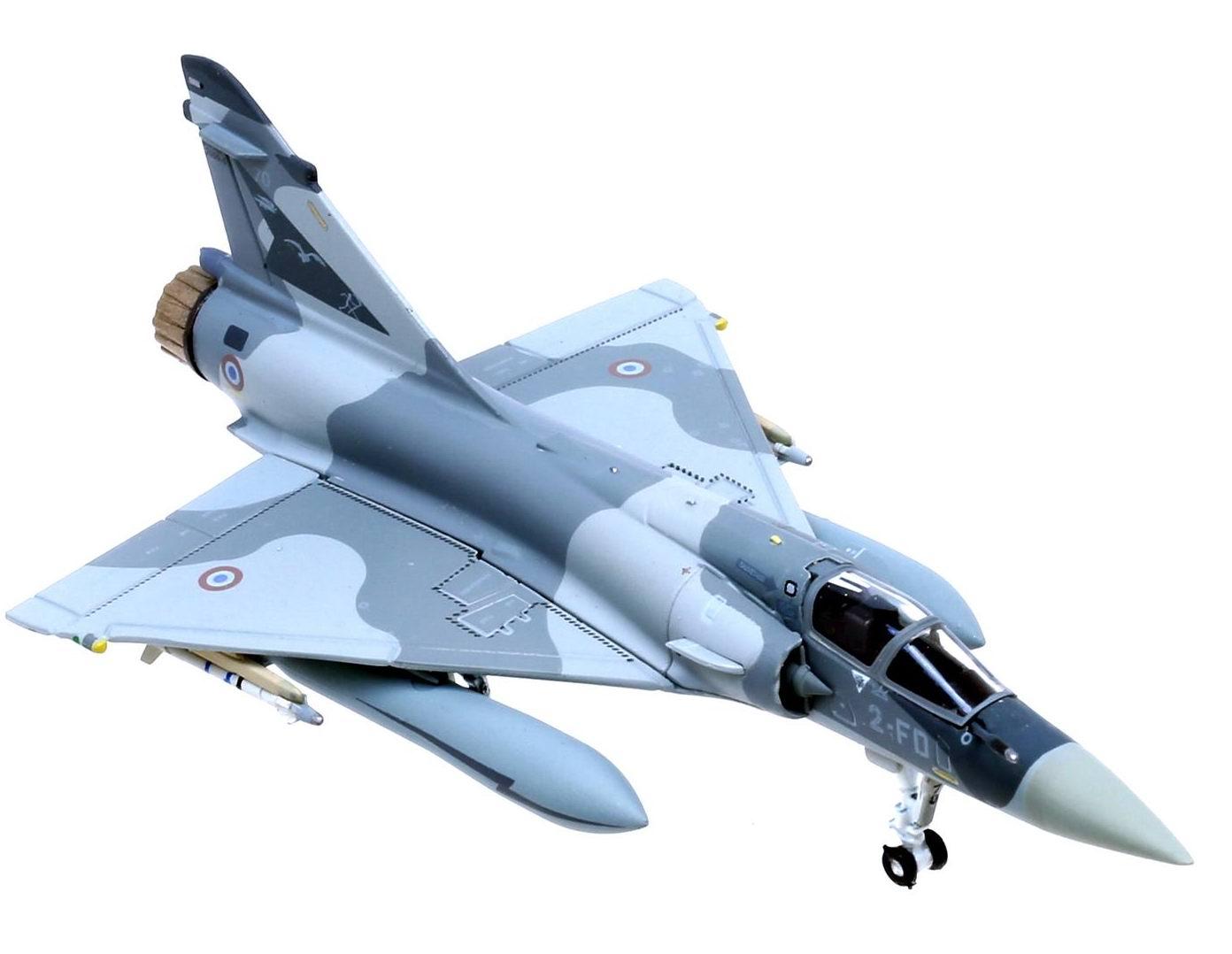 Maquette avion Mirage 2000-5 Base Aérienne 102 Dijon 1/200 Hogan
