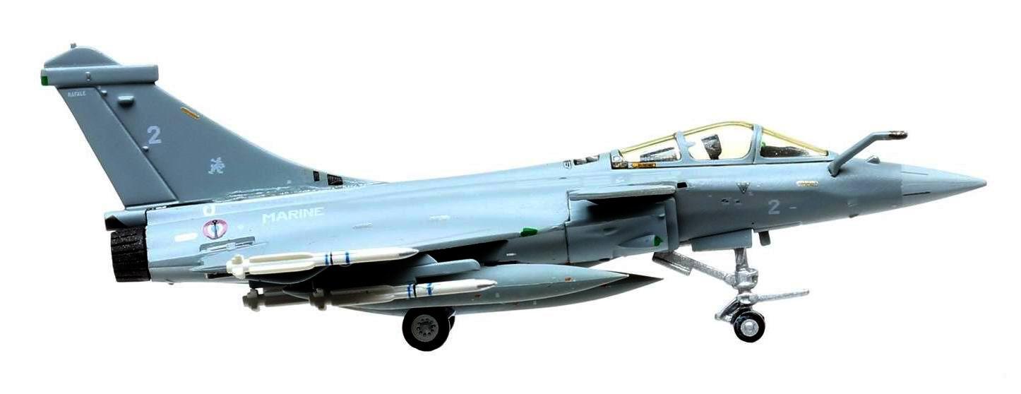 Maquette Rafale M Aéronavale Landivisiau 1/200 Hogan