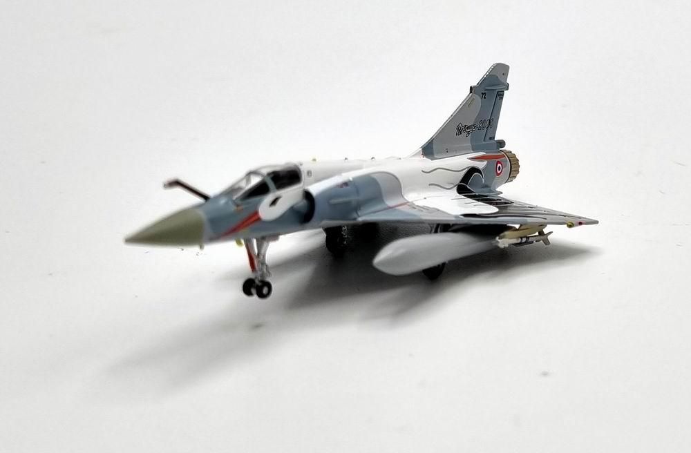 Maquette avion Mirage 2000-C Escadron de chasse 1/2 Cigognes 1/200 Hogan