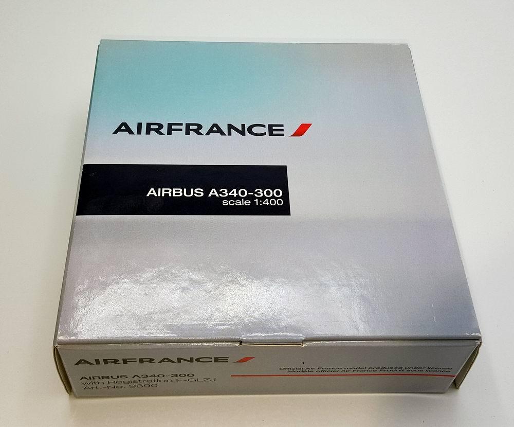 Maquete avion métal AIRBUS A340-300 AIR FRANCE 1/400