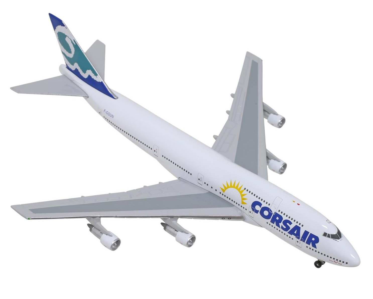Maquette B747-400 CORSAIR F-GSEX 1/200