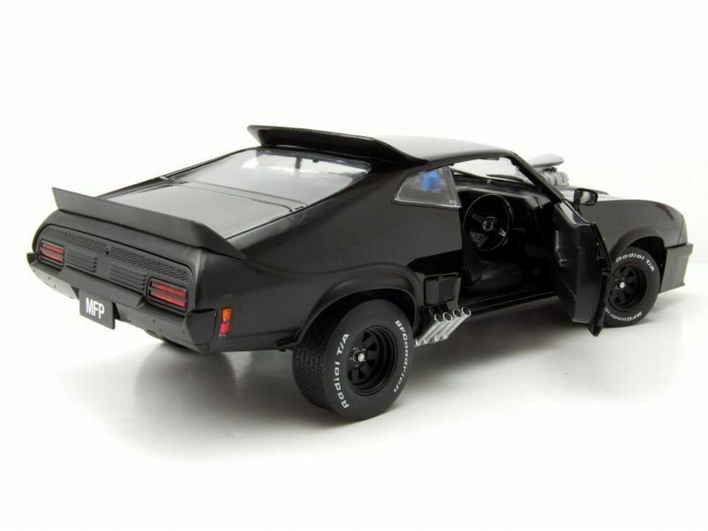 Miniature voiture Mad Max Ford Falcon XB Coupe 1973 V8 Interceptor 1/18