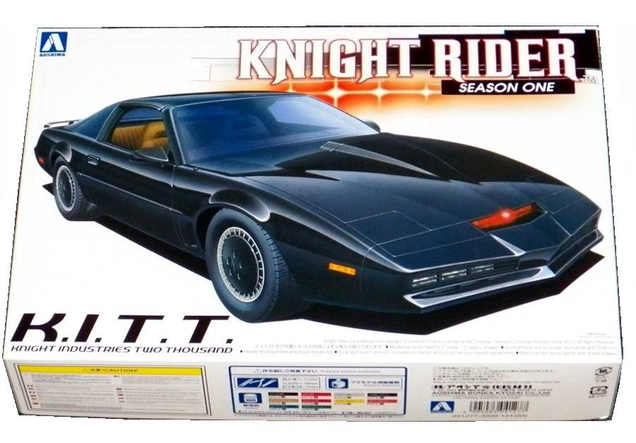 Maquette kit Voiture K2000 KITT PONTIAC FIREBIRD KNIGHT RIDER 1/25