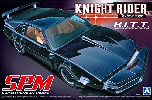 Maquette kit Voiture K2000 KITT SPM Super Poursuite Mode PONTIAC FIREBIRD KNIGHT RIDER 1/24