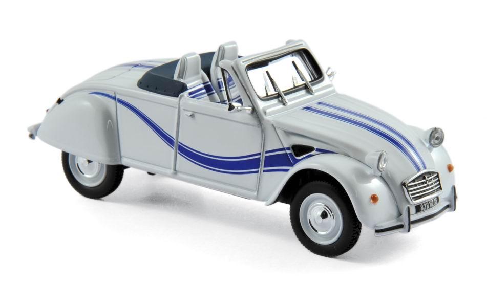 Miniature CITROEN 2CV Cabriolet Azelle de 1990 1/43 NOREV