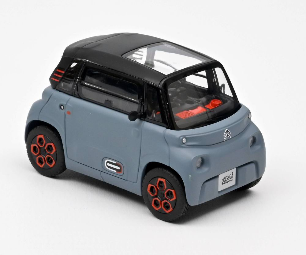 Petite Voiture Miniature CITROEN Ami 100% ëlectric 2020 My Ami Orange 1/43 NOREV