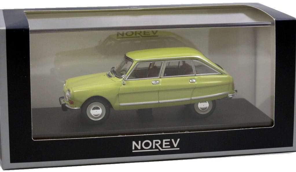 Miniature CITROEN Ami 8 jaune 1/43 NOREV