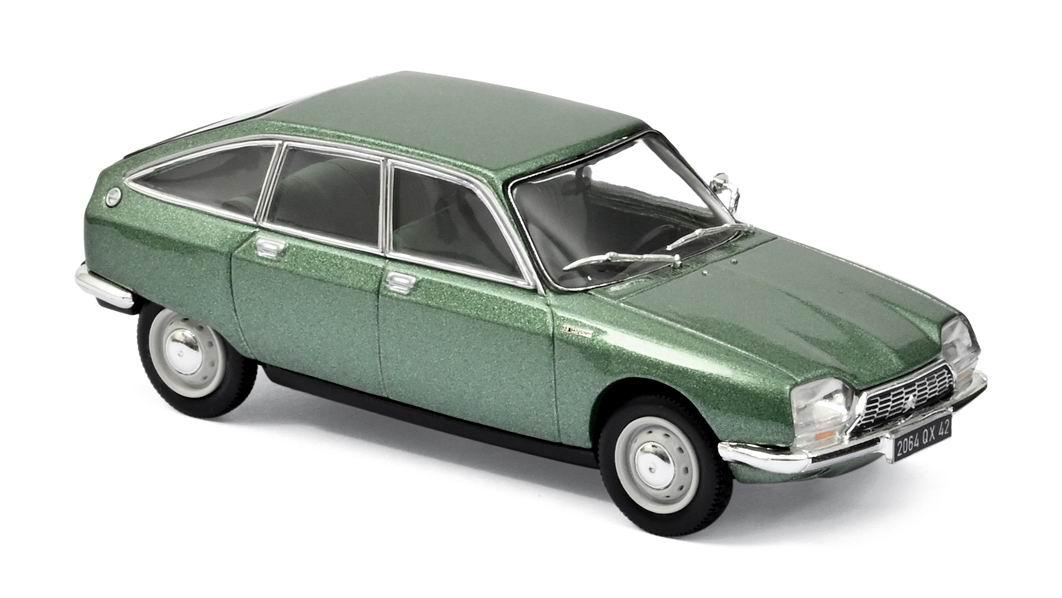 Voiture Miniature CITROEN GS 1220 Club Vert Norev 1/43