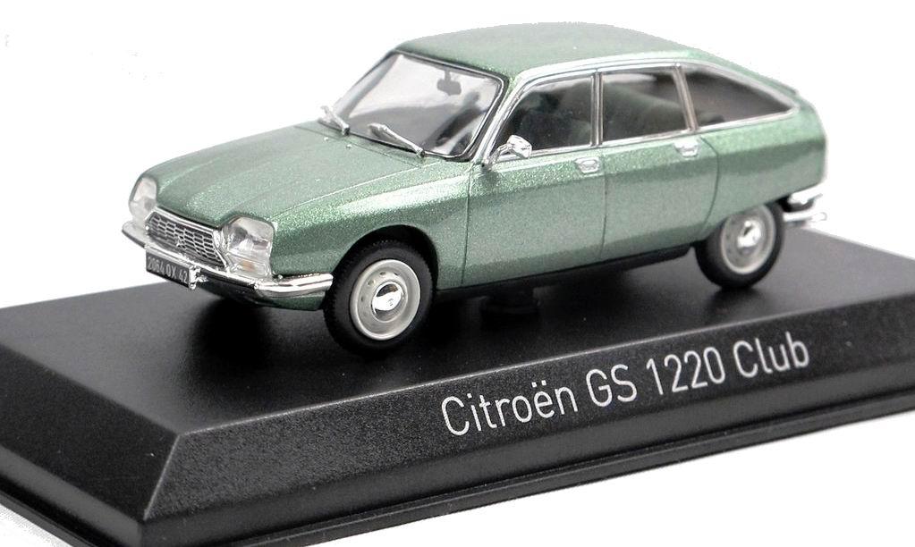 Voiture Miniature CITROEN GSClub 1220 Vert Norev 1/43