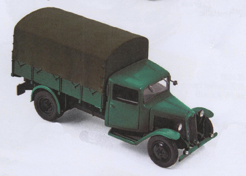Camion CITROEN Type 23 de 1946 Vert 1/43 NOREV
