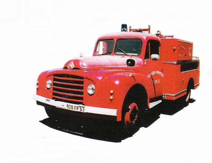 CITROËN T46 Pompiers Pompe Guinard 1962 1/43 NOREV
