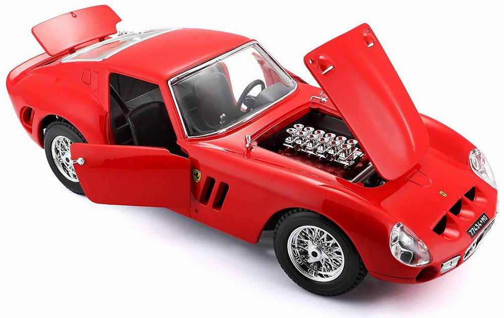 Voiture métal miniature Ferrari250 GTO 1/18