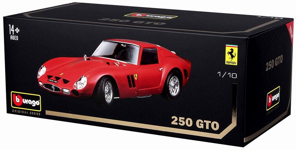 Voiture métal miniature Ferarri 250 GT0 1/18