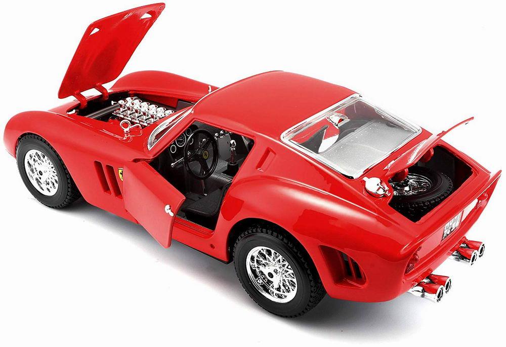 Voiture métal miniature Ferrari250GTO 1/18