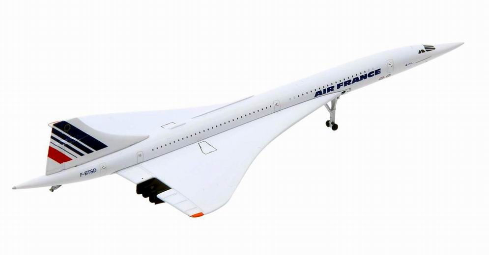 Maquette Concorde F-BTSD Air France