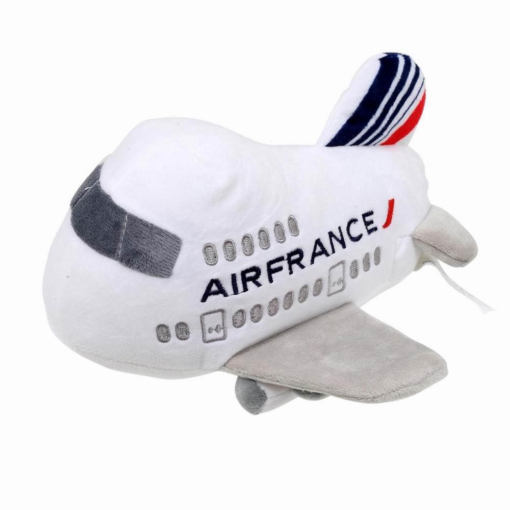 Peluche sonore moteur Airbus Air France