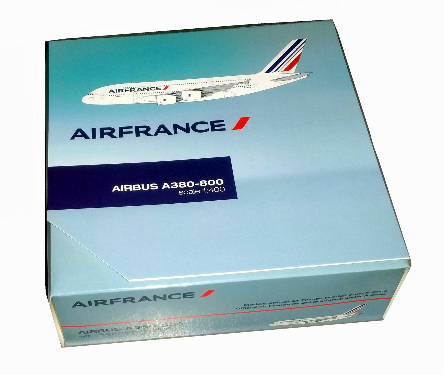 Maquette Avion AIRBUS A380-800 AIR FRANCE 1/400