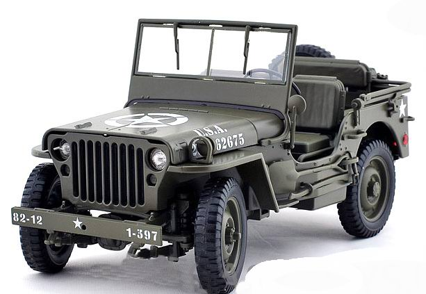 JEEP Willys US Army 1/18