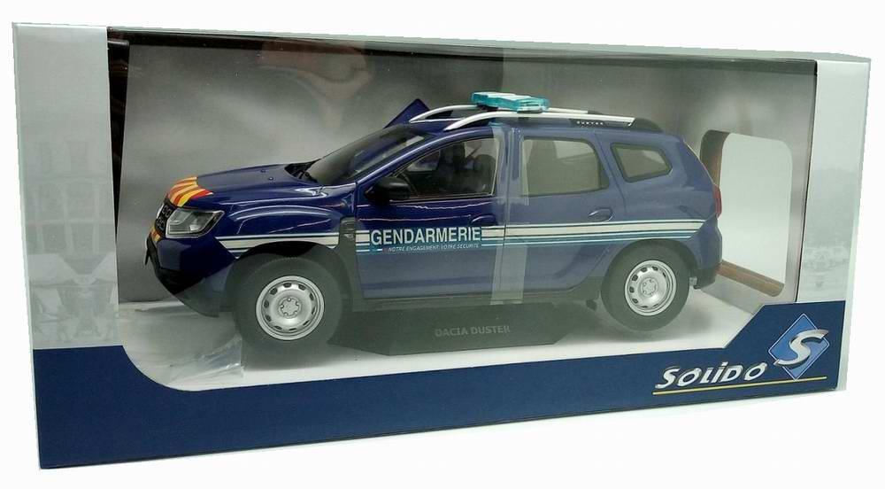 Voiture Miniature DaciaDuster gendarmerie 1/18