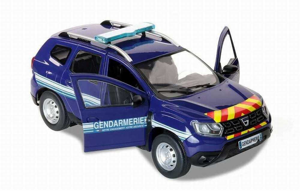 Voiture Miniature DaciaDuster GENDARMERIE NATIONALE 1/18
