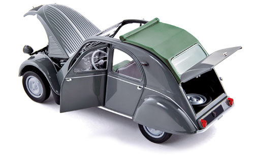 voiture miniature CITROEN 2CV AZL Malle Bombee 1957 1/18 NOREV