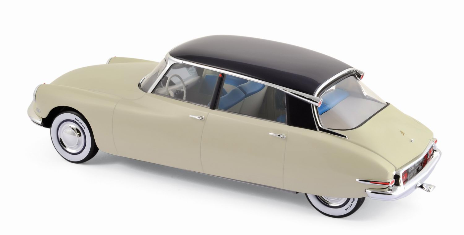 Miniature CITROEN DS19 de 1955 Salon de Paris 1955 1/18 NOREV