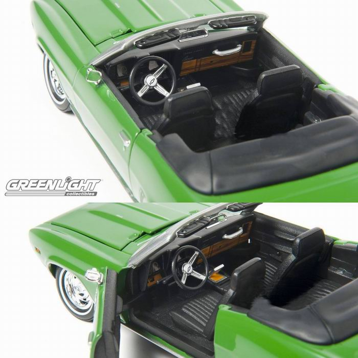 Véhicule CHEVROLET Camaro RS Décapotable 1969 Ma Sorcière Bien-Aimée (Bewitched)  1/24