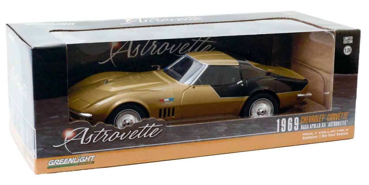 Voiture miniature jouet Voiture Chevrolet Corvette AstroVette NASA Astronaute Apollo XII au 1/24
