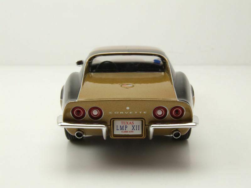 Voiture miniature jouet Voiture Chevrolet Corvette AstroVette NASA Astronaute Apollo 12 1/24