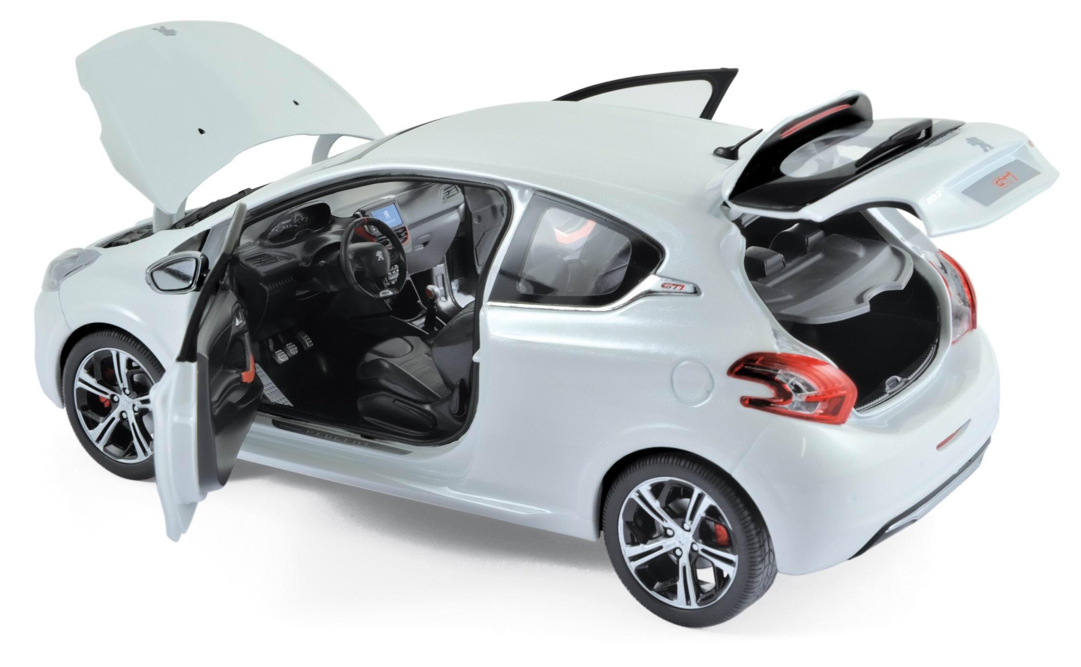 Voiture Miniature PEUGEOT 208 GTI 2013 NOREV 1/18