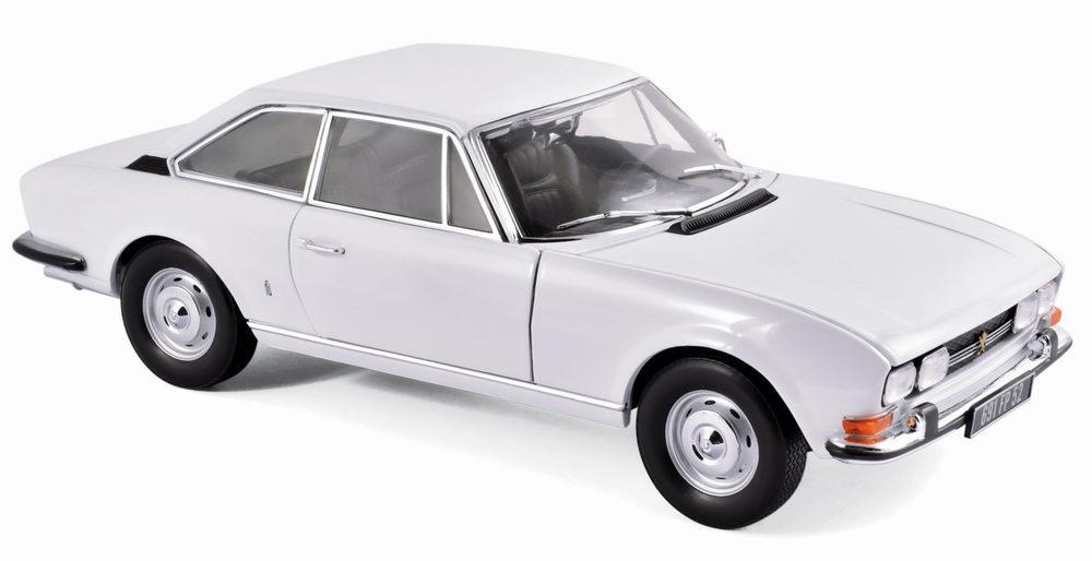voiture miniature PEUGEOT 504 Cabriolet 1969 NOREV 1/18