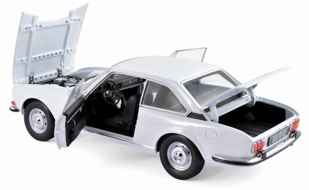 Voiture miniature PEUGEOT 504 Cabriolet 1970 NOREV 1/18