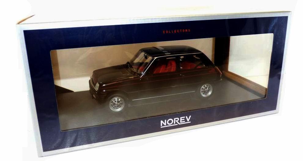 Voiture miniature R5 Alpine 1/18 Norev