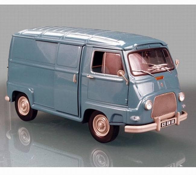 Miniature Renault Estafette bleu 1965 NOREV 1/18