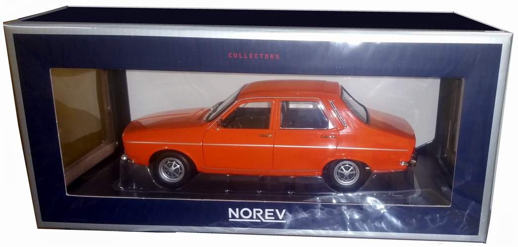 Renault 12 TS orange 1973 1:18 Norev