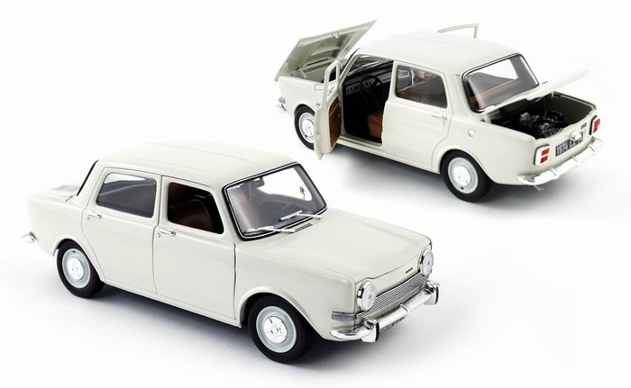 SIMCA 1000 LS Blanche 1974 NOREV