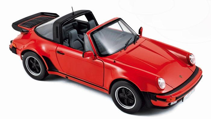 PORSCHE 911 3.3 Turbo Targa 1987 NOREV 1/18ème