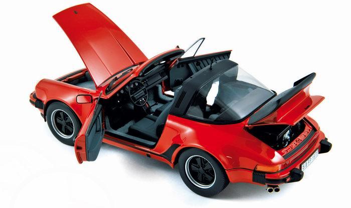 PORSCHE 911 3.3L Turbo Targa 1987 NOREV 1/18ème