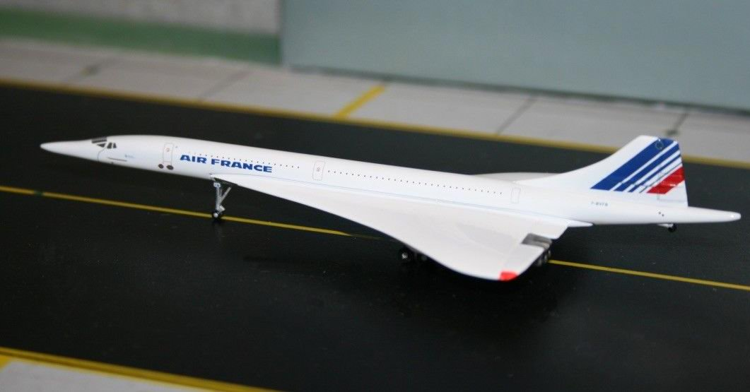 Maquette Concorde Air France F-BVFB 1/400