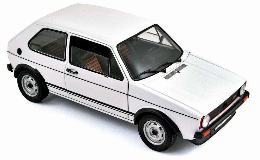 Voiture Miniature métal VOLKSWAGEN Golf GTI 1977 NOREV 1/18