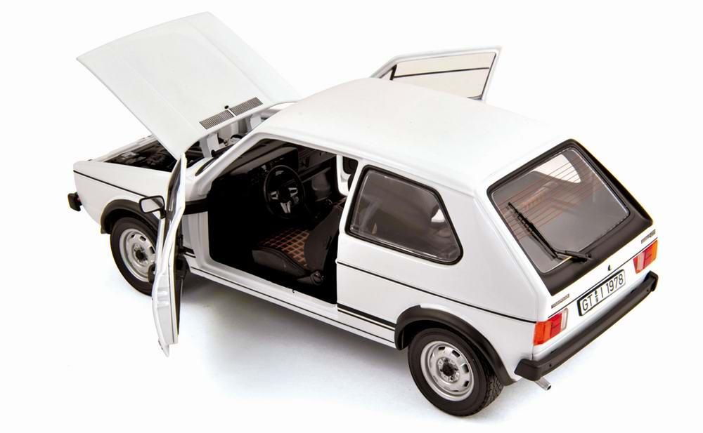 Voiture miniature VOLKSWAGEN GolfGTI 1977 NOREV 1/18