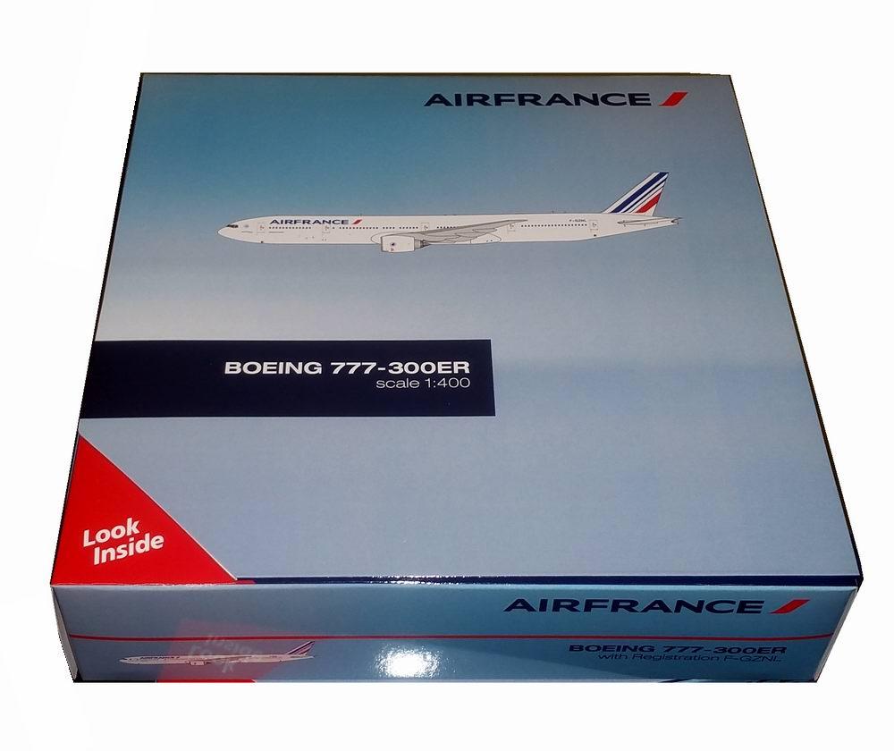 Maquette BOEING 777-300ER AIR FRANCE 1/400