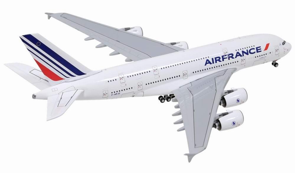 Maquette Avion AIRBUS A380800 AIR FRANCE 1/400