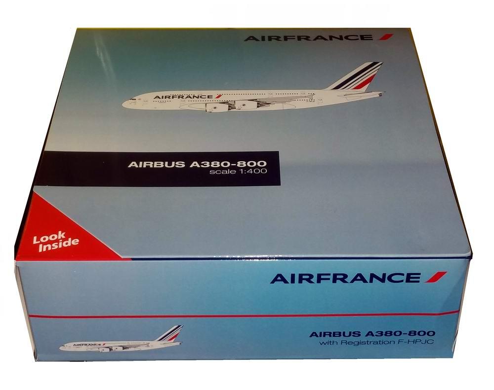 Maquette Avion métal AIRBUS A380800 AIR FRANCE 1/400