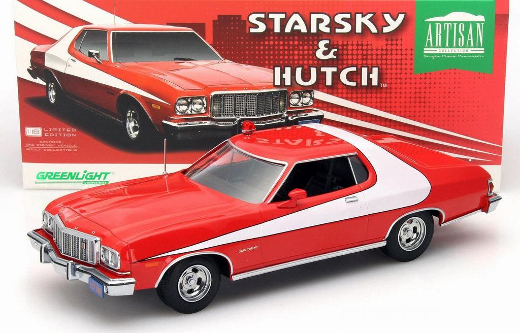 Véhicule Ford Gran Torino 1976 du Film Starsky et Hutch