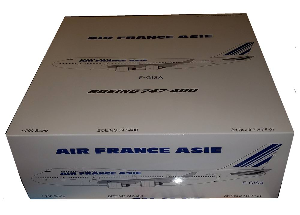 Maquette Boeing B747-400 ASIE F-GISA Air France 1/200