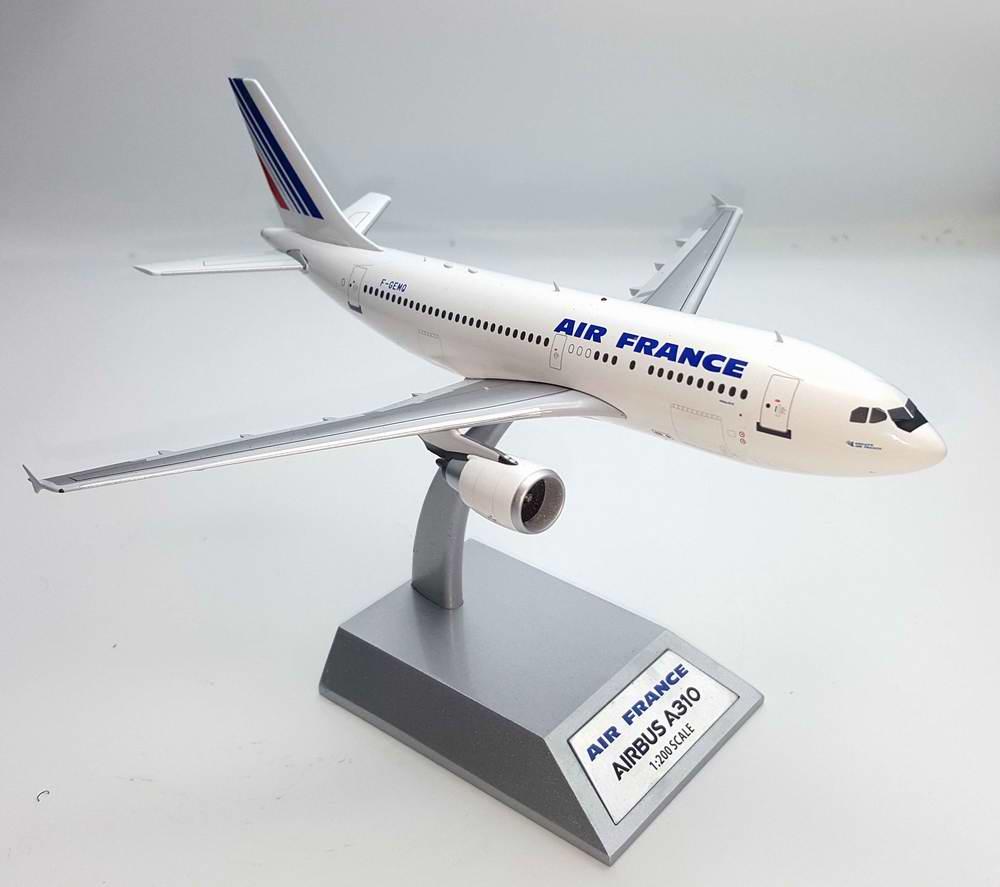 Maquette avion AIRBUS A310-300 F-GEMQ AIR FRANCE métal 1/200
