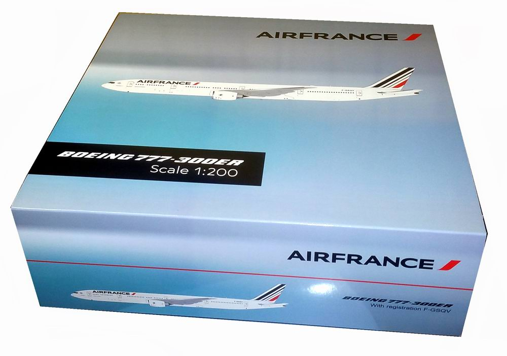 Maquette BOEING 777-300ER AIRFRANCE 1/200