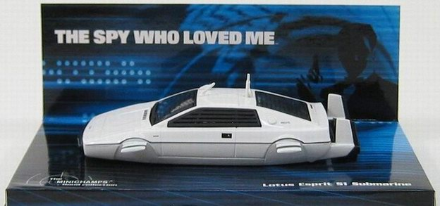 LOTUS S1 Sous Marin du film L'Espion qui m'aimait 1/43 James Bond 007